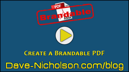 Create a Brandable PDF